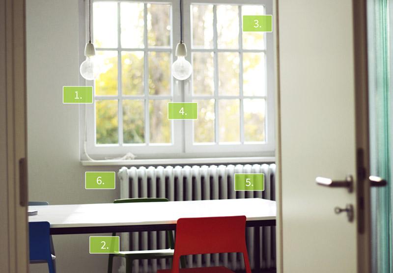 heiz tipps energie sparen polarstern. Black Bedroom Furniture Sets. Home Design Ideas