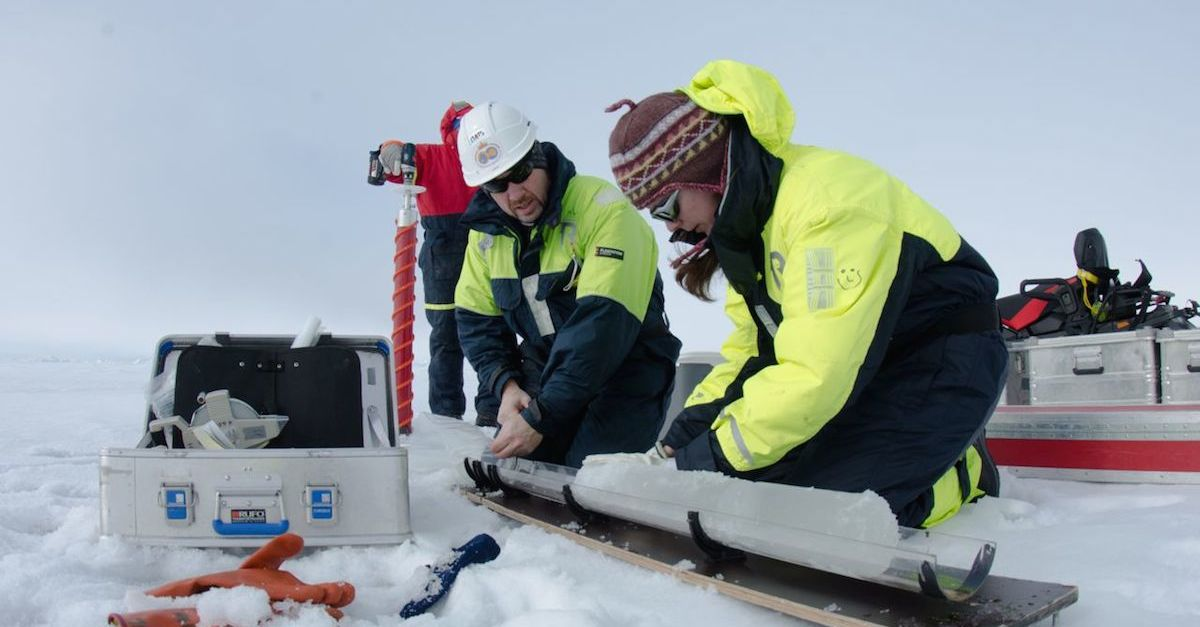 Klimaschutz beginnt zu Hause und reicht bis zum Arbeitsplatz Arktis