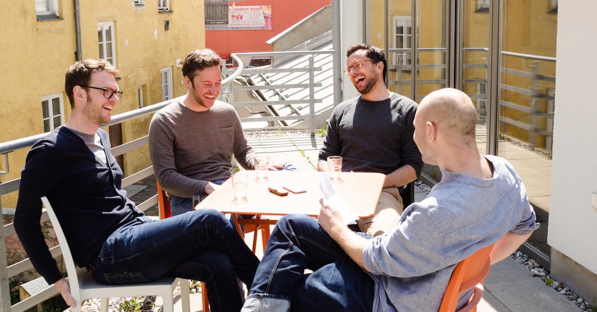 Interview mit den Gründern von Polarstern: Jakob, Florian, Simon