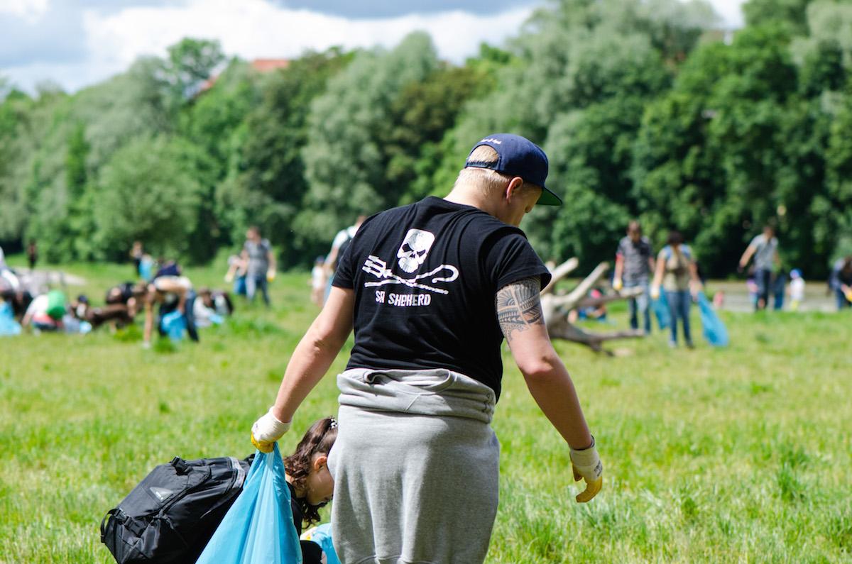 Ramadama! CleanUp an der Isar: Sea Shepherd ist dabei!