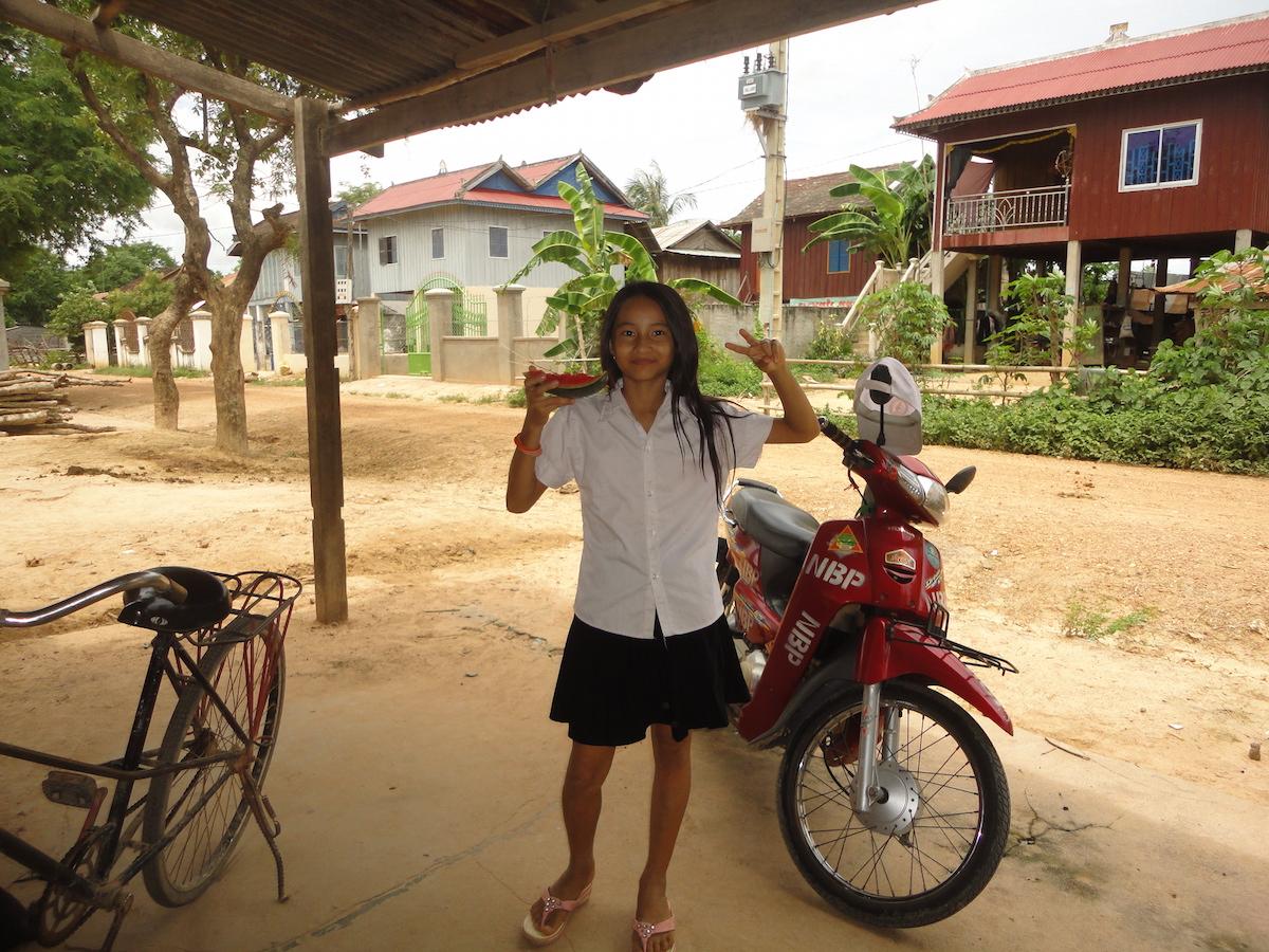Polarstern arbeitet mit dem National Biodigester Programme in Kambodscha zusammen