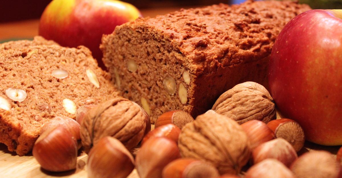 Rezept mit Bild: Wirklich veganes Apfelbrot