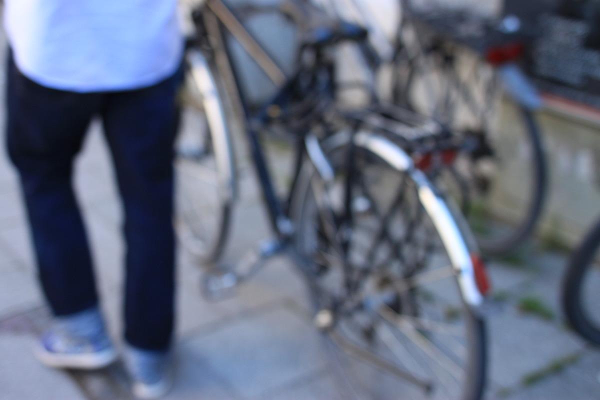 Wer sein Fahrrad liebt, schiebt