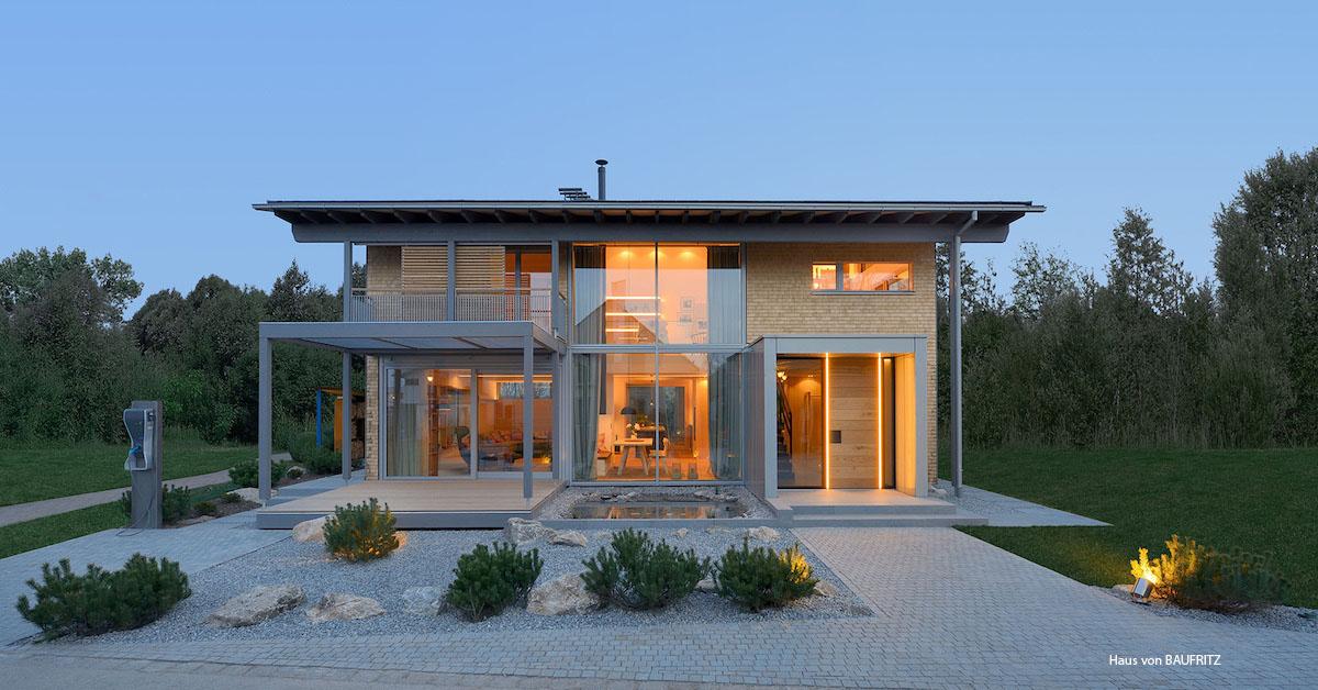 Musterhaus von Baufritz