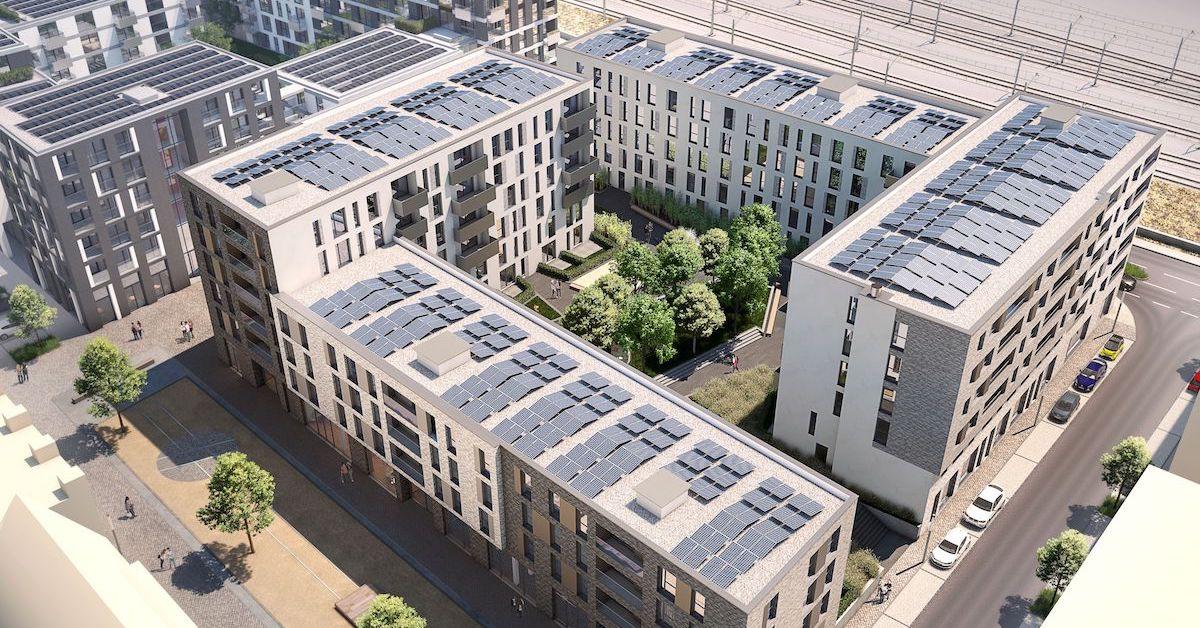 Mieterstrom-Projekt Citadis in Esslingen