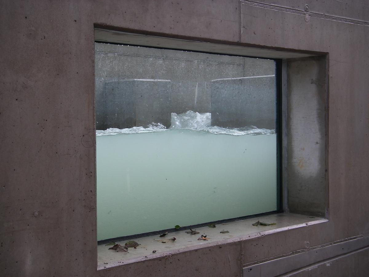Fischwanderhilfe am Wasserkraftwerk Feldkirchen