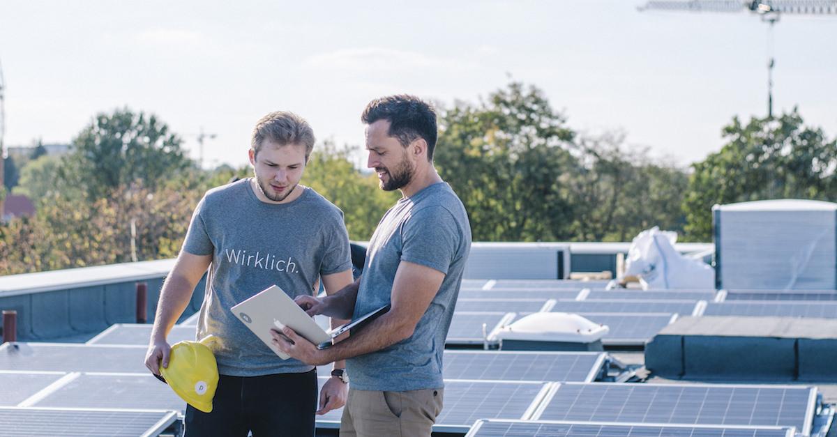 Mit erneuerbaren Energien auf dem Weg zu einer sauberen Energieversorgung.