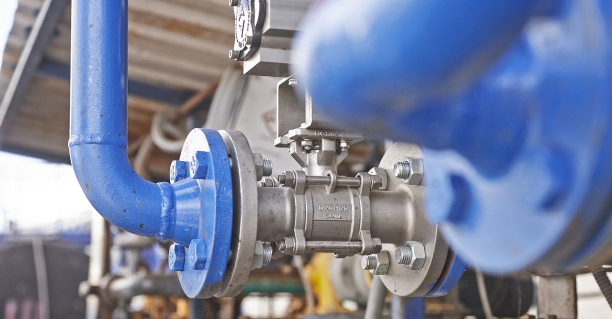 Gasversorger: Zu Besuch bei einer Biogasanlage eines Biogasanbieters.