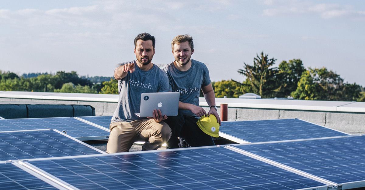 Mieterstrom: Die Stromanbieter planen das Mieterstromprojekt.