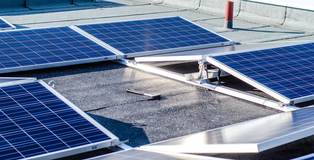 Solaranlagen liefern Sonnenenergie für Mieterstrom