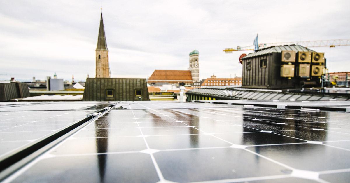 Mieterstrommodell: Photovoltaikanlage eines Mieterstromprojekts.