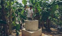 Mikro-Biogasanlage in Kambodscha