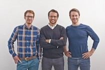 Simon, Jakob und Florian gründeten den Ökoenergieversorger Polarstern 2011