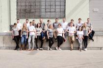 Das Polarstern Team mit 'Wirklich' T-Shirts